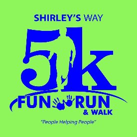 shirley s way 5k fun run walk sat sep 30 2017